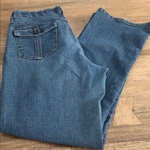 Lee medium wash comfort waistband